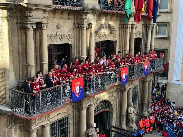 El alcalde celebra la identificación de Osasuna con Pamplona