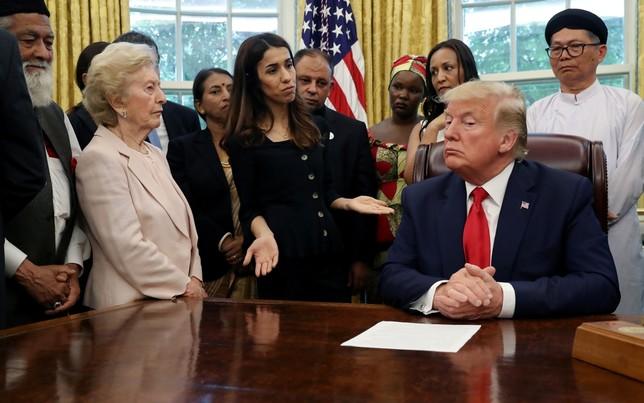 Polémica por el desinterés de Trump ante la Nobel de la Paz
