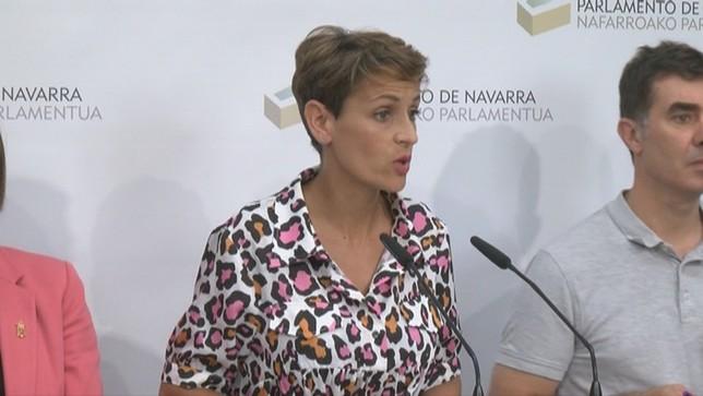 Chivite anuncia un programa ambicioso y con avances sociales NATV