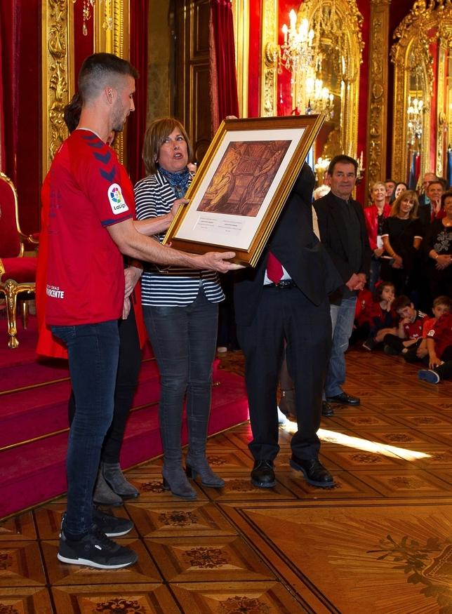 Homenaje a Osasuna como valor de cohesión de los navarros Iñaki Porto