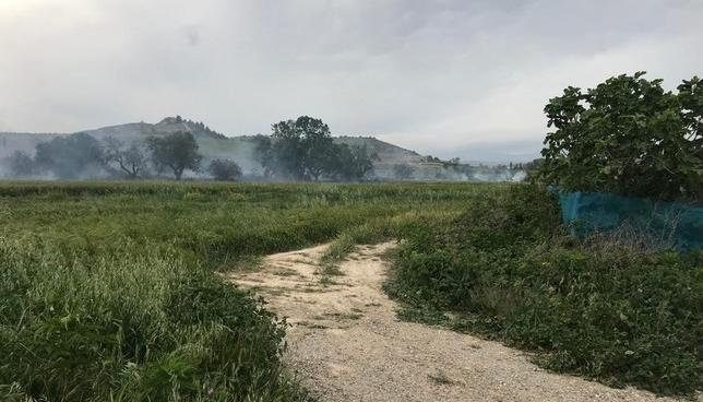 Controlado un incendio entre Viana y Moreda de Álava
