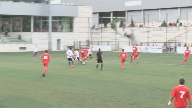 Un empate con goles clasificaría a la Mutilvera en la vuelta