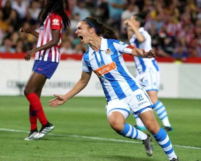 La Real Sociedad estrena palmarés ante un Atlético gafado José Torres