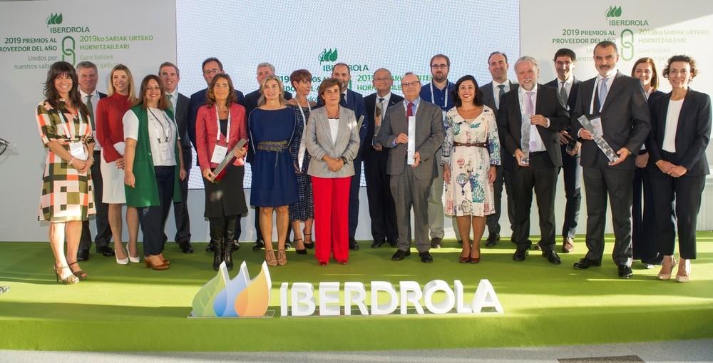 Ceremonia de entrega de los Premios al Proveedor del Año en España 2019 que concede Iberdrola.