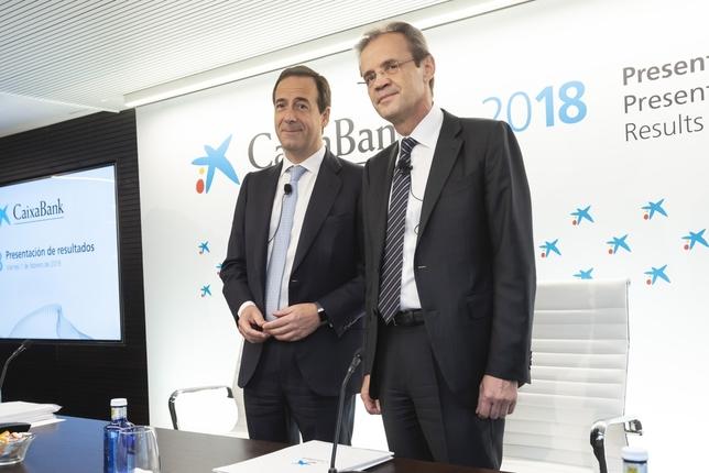 Caixabank obtiene beneficios de casi 2.000 millones en 2018 vicente A.Jimenez