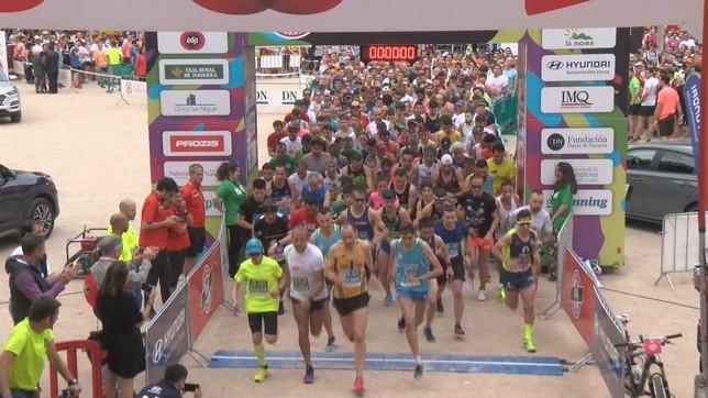 2.500 participantes tomaron la salida en esta VI San Fermín Marathon