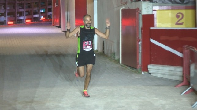 Sergio Glaría se proclamó campeón de la prueba de maratón