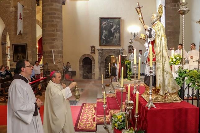 El obispo de Ciudad Real, Gerardo Melgar, abre el Año Jubilar por San Juan de Ávila.