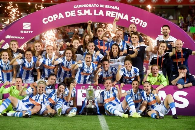 La Real Sociedad estrena palmarés ante el Atlético de Madrid Miguel Ángel Molina