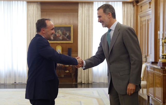 UPN está dispuesto a apoyar a Sánchez si pactan en Navarra Javier Lizón