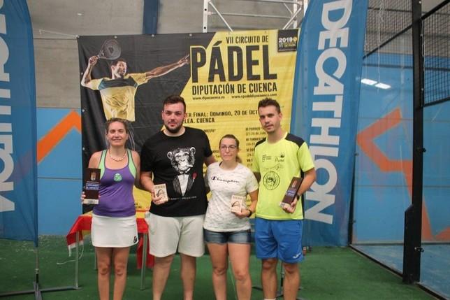 Los hermanos Morena ganan el torneo de pádel de Cuenca