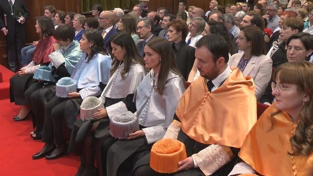 139 nuevos doctores celebran su acto de investidura