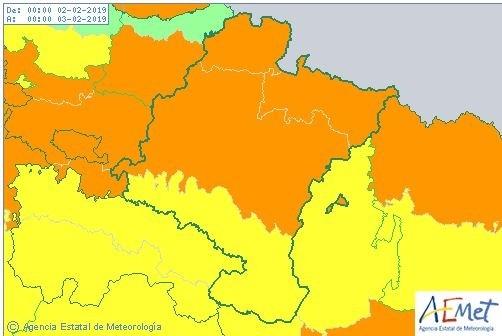 Vuelve el temporal: media Navarra, en aviso por nieve