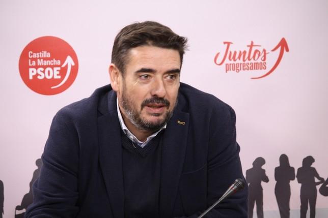 Rafael Esteban, presidente del PSOE en las Cortes.