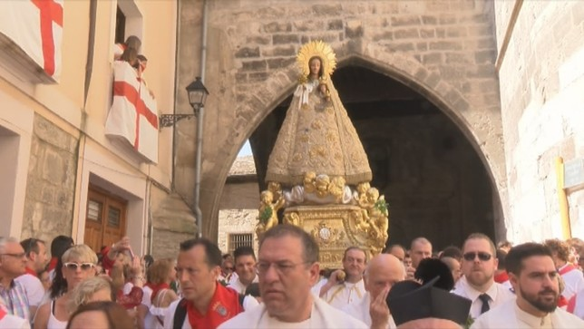 La procesión de Santa Ana, como nunca antes se había visto