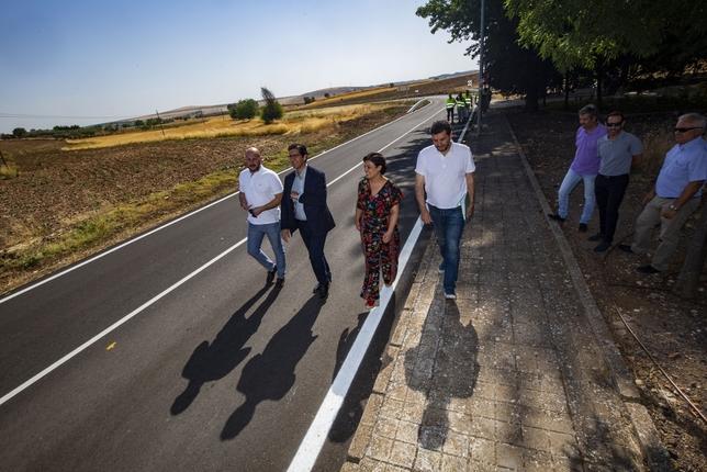 Inaugurada la carretera que une Valverde con Ciudad Real