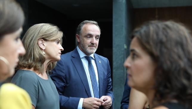 Navarra + no permitirá más mentiras del partido socialista