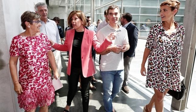 PSN, Geroa Bai, Podemos e I-E cierran preacuerdo de gobierno Jesús Diges