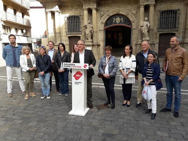 Escrutinio: Navarra Suma toma ventaja en Pamplona