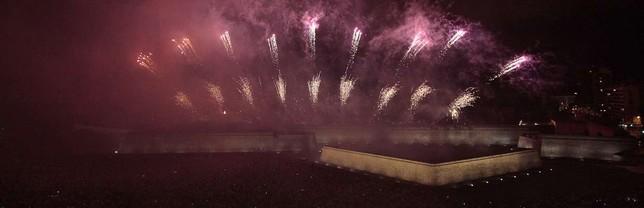 Los fuegos artificiales serán a las 23:00 horas