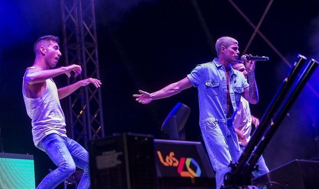 David Lafuente estuvo a punto de ir a Eurovisión cuando empezaba con Auryn, allá por 2011. Ayer estuvo cantando en solitario, pero con dos bailarines