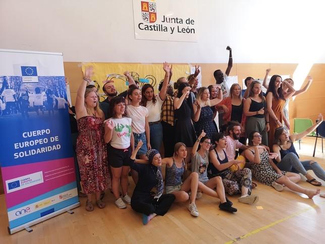 El Cuerpo Europeo de Solidaridad se prepara en Soria