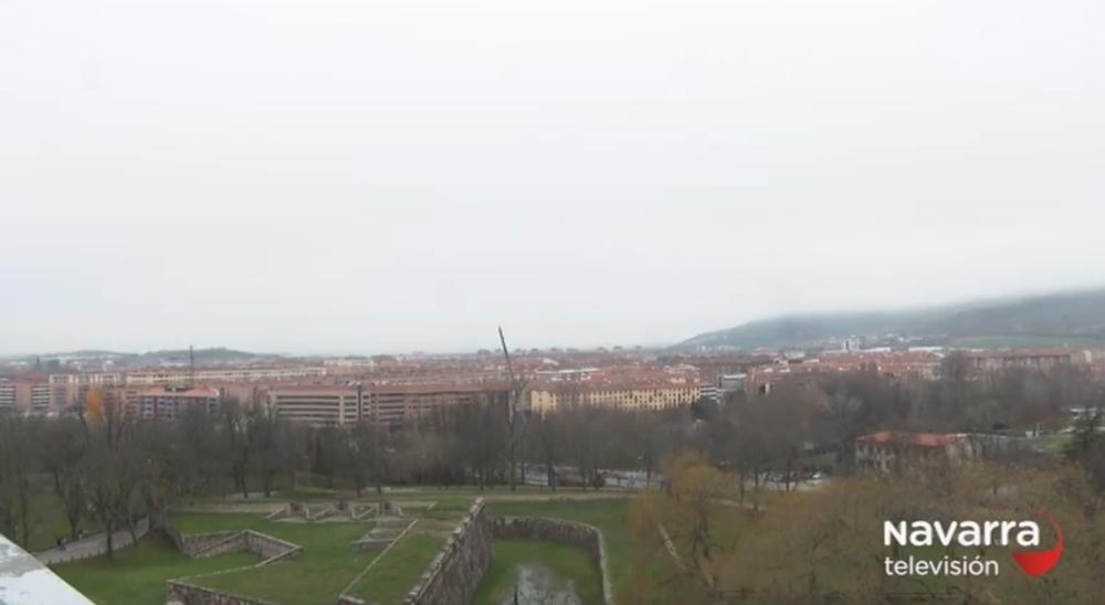 Navarra despide 2019 en alerta amarilla por frío y niebla