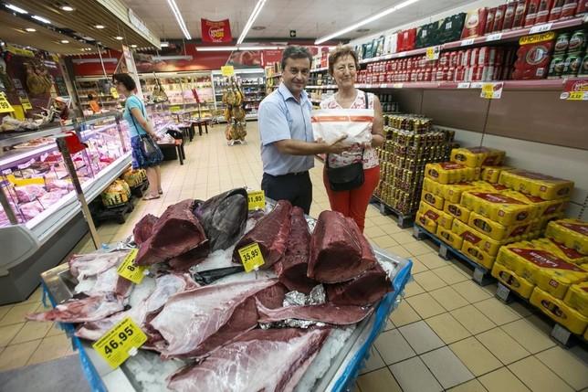 Grupo Día exhibe el ronqueo del atún rojo en Cuenca