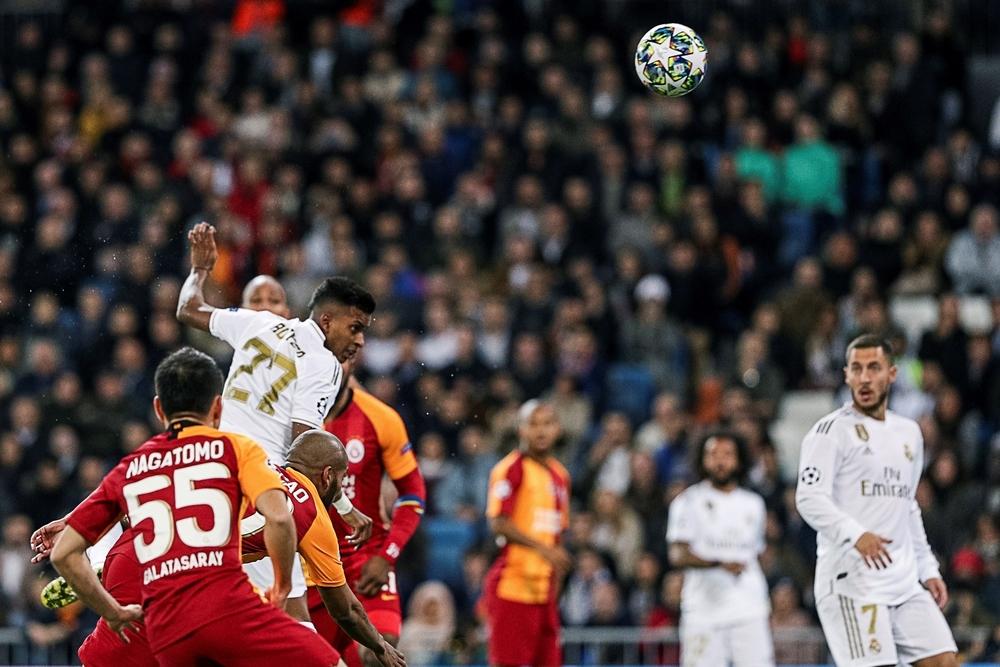 El Madrid disfruta con la samba de Rodrygo