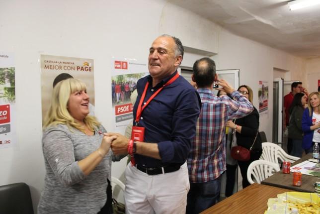 Carrizo devuelve al PSOE a la mayoría absoluta en Tarancón