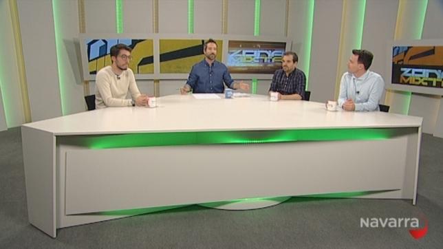 Arranca nueva temporada de Zona Mixta, hoy en Navarra TV