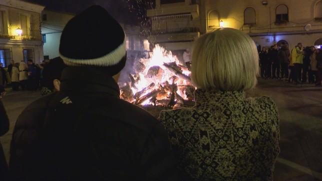 Cadreita calienta el invierno con las fiestas de San Antón