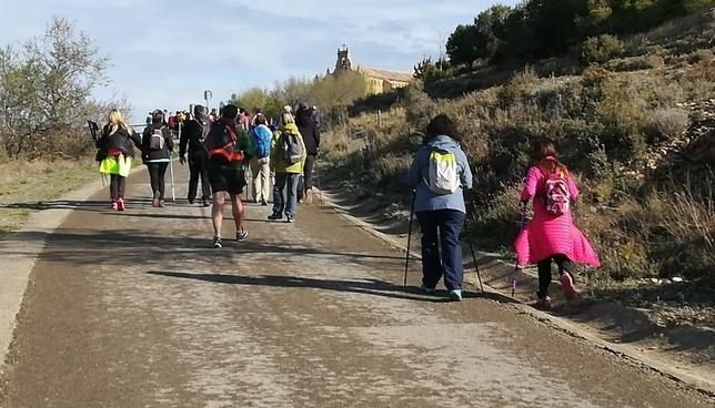Más de 2.000 peregrinos marchan ya hacia Javier