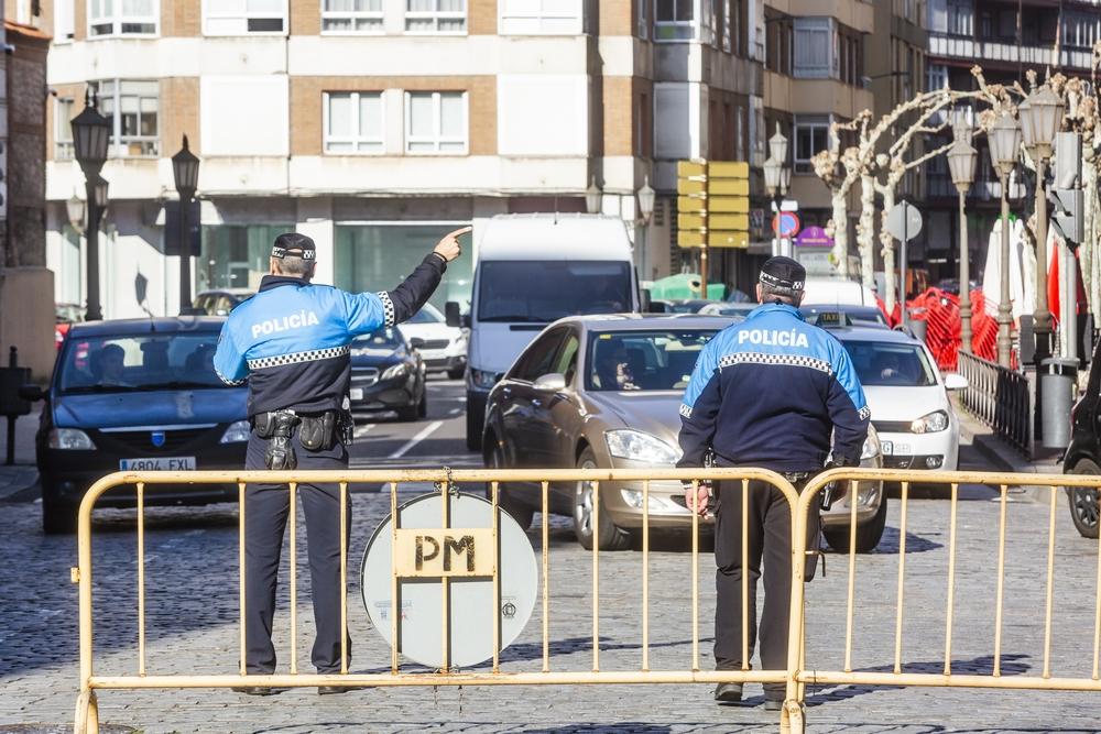 Valladolid mantiene el corte del centro al tráfico hoy Jonathan Tajes