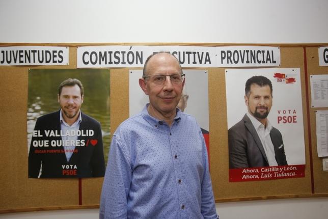 Juan Carlos Hernández concejal 10 en el Ayuntamiento de Valladolid