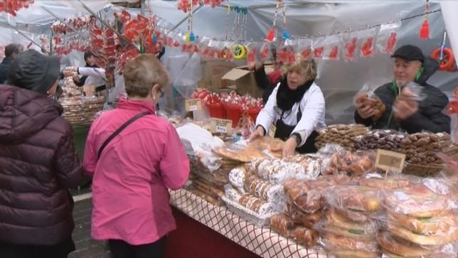 Dulces y roscos mañana en Pamplona para celebrar San Blás