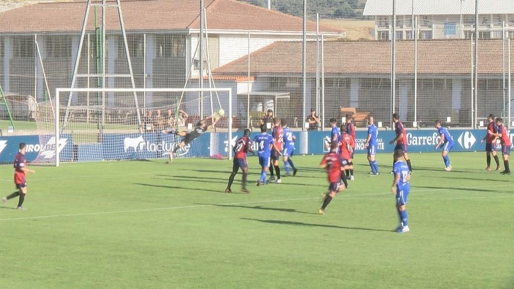 Álvarez evitó el empate del Arenas en el ocaso de la primera parte