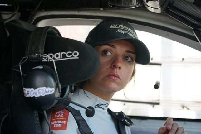 Cristina Gutiérrez acaba el Dakar en el puesto 26