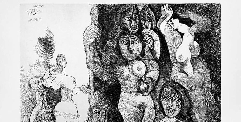 El erotismo tardío de Picasso
