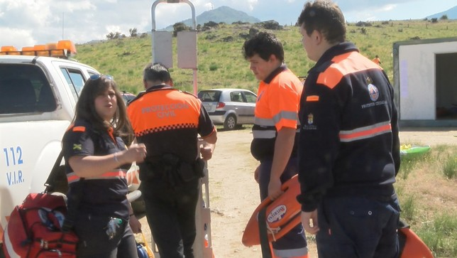 El trabajo altruista de los voluntarios de Protección Civil