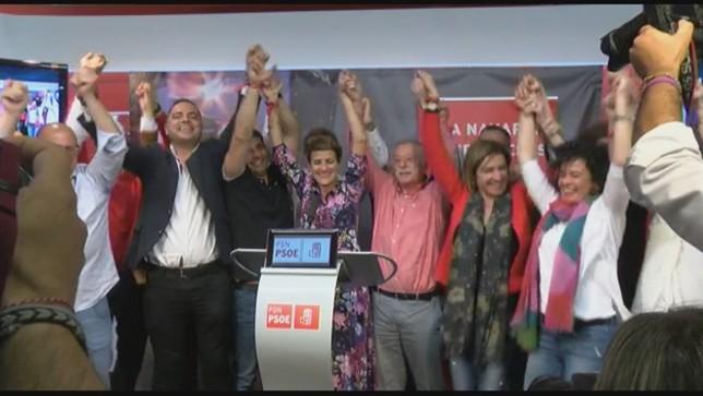 Chivite trabajará para ser Presidenta sin los votos de Bildu