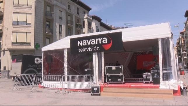 Navarra TV, en directo desde todos los puntos de la fiesta