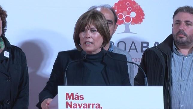 Barkos deja en manos de Chivite a la mayoría progresista