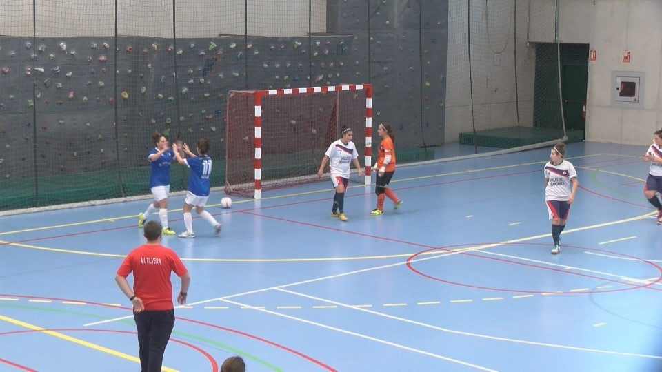 Txantrea- Orvina, final de la Copa Navarra de futsal
