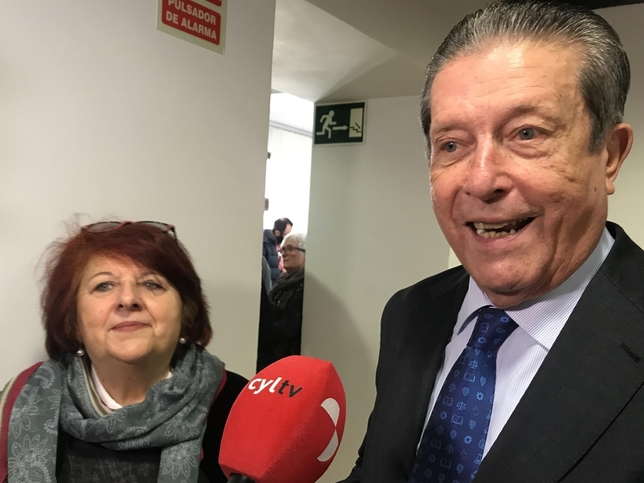 Mayor Zaragoza y Fanny Rubio
