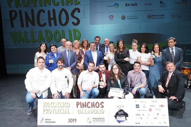Suite 22 gana el Concurso Provincial de Pinchos de Valladolid