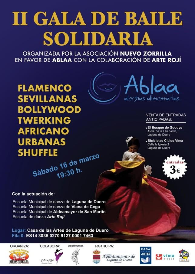 Gala de baile solidaria por las alergias alimentarias