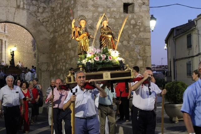 Tarancón se vuelca en recibir a la Virgen de Riánsares