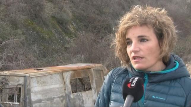 Ana Gutiérrez, vecina de San Adrián, alerta del aumento de robos en su localidad NATV