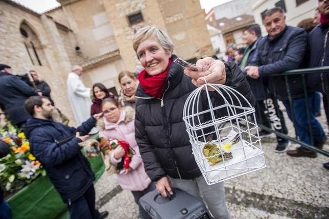Una bendición de San Antón al vuelo Pablo Lorente